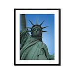New York Souvenir Framed Panel Print