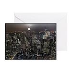 New York City Souvenir Greeting Cards 10pk Skyline