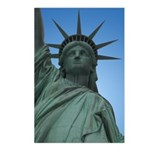 New York Souvenir Postcards 8 pk Statue of LIberty