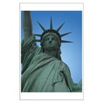 New York Souvenir Poster Statue of LIberty Print