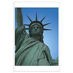 New York Souvenir Poster Statue of LIberty Print