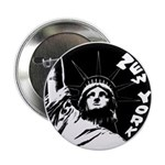New York Souvenir Button Statue of Liberty 10 pk