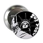 New York Souvenir Button Statue of Liberty Button
