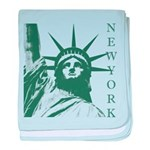 New York Souvenir baby blanket