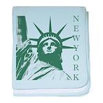 New York Souvenir baby blanket