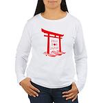 Pray for JAPAN Women's Long Sleeve T-Shirt