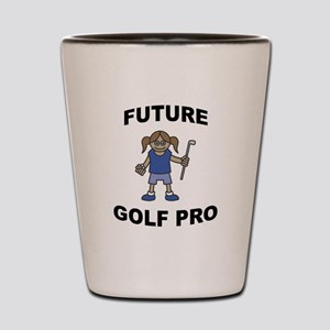 Future Golf Pro (Girl) Shot Glass