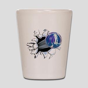 Breakthrough Bowling Ball Shot Glass