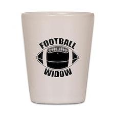 Football Widow Shot Glass