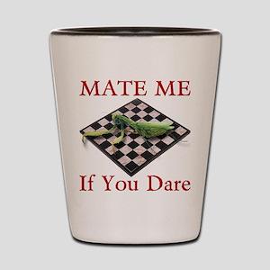 Mate Me Chess Shot Glass