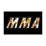 MMA 35x21 Wall Decal