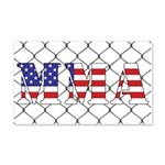 USA MMA 20x12 Wall Decal