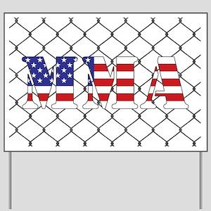 USA MMA Yard Sign