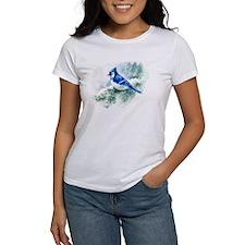 Watercolor Blue Jay T-Shirt