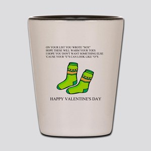 valentine gifts and apparel Shot Glass