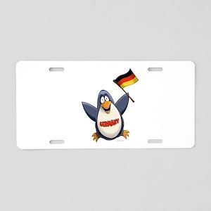 Germany Penguin Aluminum License Plate