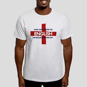 England Flag St George's Day Light T-Shirt