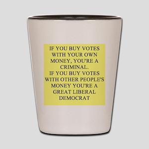 anti-democrat gifts t-shirts Shot Glass