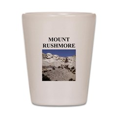 mount rushmore gifts and t-sh Shot Glass