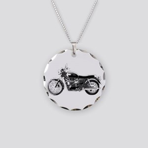 Bonneville Necklace Circle Charm