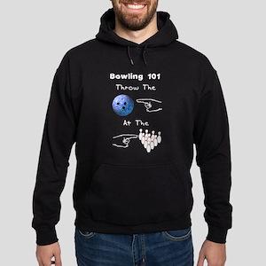 Bowling Basics Hoodie (dark)