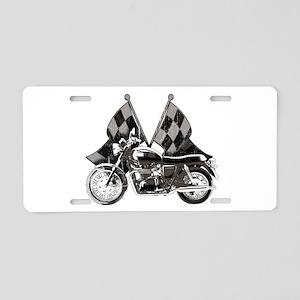 Bonneville Aluminum License Plate