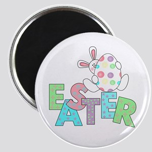 Bunny With Easter Egg Magnet
