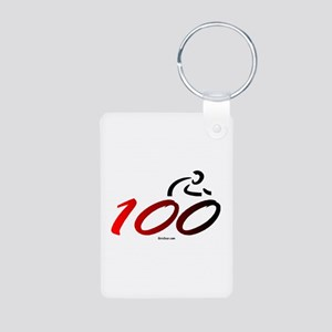 Century - 100 Aluminum Photo Keychain