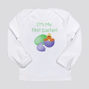 Duckie First Easter Long Sleeve Infant T-Shirt