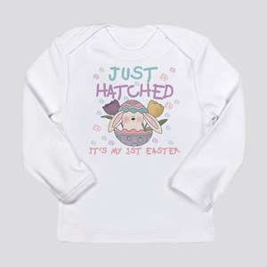 Just Hatched 1st Easter Long Sleeve Infant T-Shirt