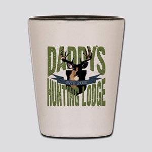 Daddy's Hunting Lodge Shot Glass