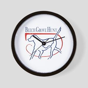 Beech Grove Hunt Wall Clock