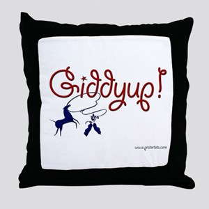 Giddyup! Throw Pillow