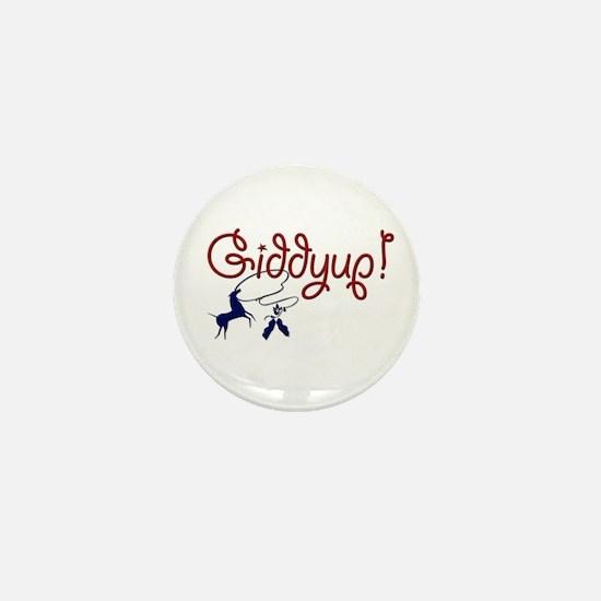Giddyup! Mini Button
