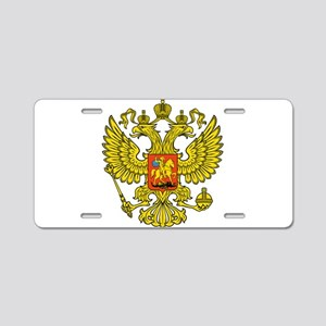 Russia Russland Logo Wappen Aluminum License Plate