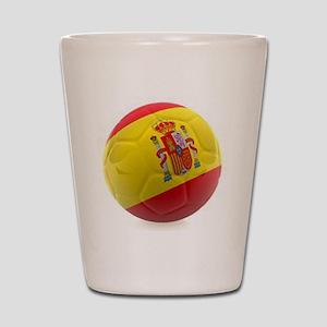 Spain World Cup Ball Shot Glass