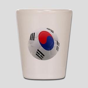 South Korea world cup soccer ball Shot Glass