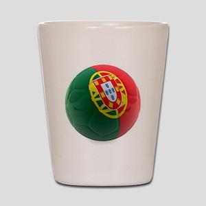 Portugal World Cup Ball Shot Glass