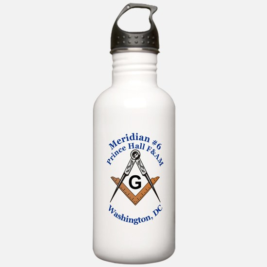 Meridian #6 Prince Hall F&AM Water Bottle