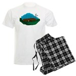 Masonic Coffin No. 5 Men's Light Pajamas