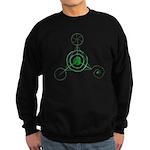 Sweatshirt (dark) - Crop Circle
