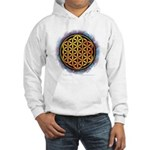 Hooded Sweatshirt - Flower Of Life