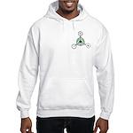 Hooded Sweatshirt - Crop Circle
