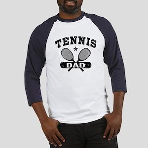 Tennis Dad Baseball Jersey