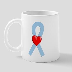 Lt Blue Ribbon Mug