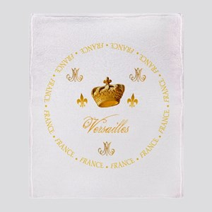 """Versailles-France 1"" Throw Blanket"