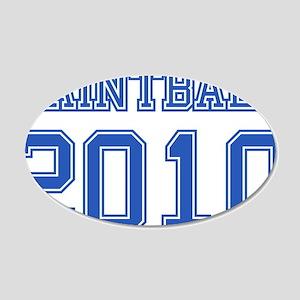"""Paintball 2010"" 22x14 Oval Wall Peel"
