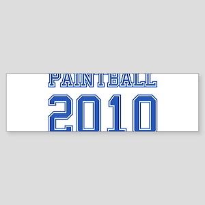"""""""Paintball 2010"""" Sticker (Bumper)"""