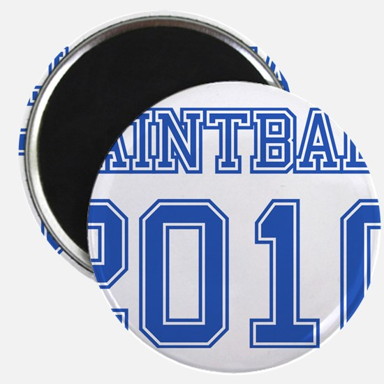 """""""Paintball 2010"""" 2.25"""" Magnet (10 pack)"""