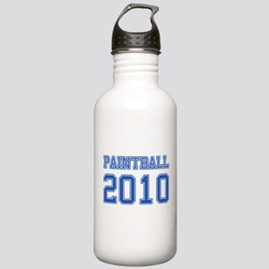 """""""Paintball 2010"""" Stainless Water Bottle 1.0L"""